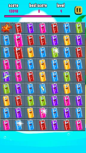 Smash Cans - Match 3 apktram screenshots 4
