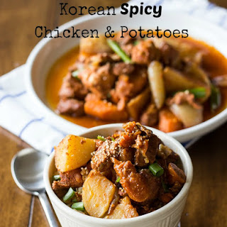 Korean Spicy Chicken and Potatoes