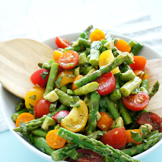 Asparagus Cherry Tomato Salad Recipes