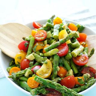 Asparagus & Tomato Salad.