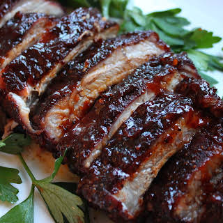 3 Step Oven Baked Ribs with Spicy Rub.