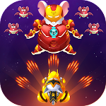 Cat Invaders - Galaxy Attack Space Shooter Icon