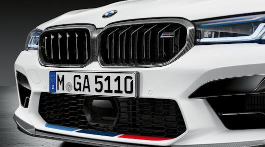 Automotor Costa muestra los BMW 5 y BMW M5, con  los accesorios M Performance
