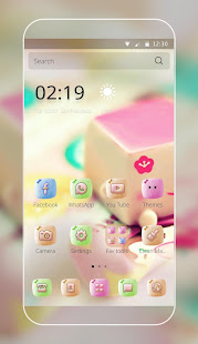 Marshmallow Candy Face Theme 1