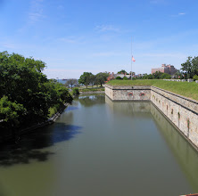 Photo: The Fort's moat