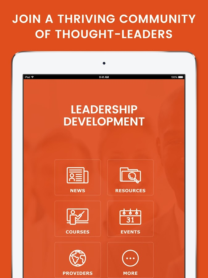 Leadership Development- screenshot