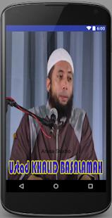 Ceramah Ustad Khalid Basalamah - náhled
