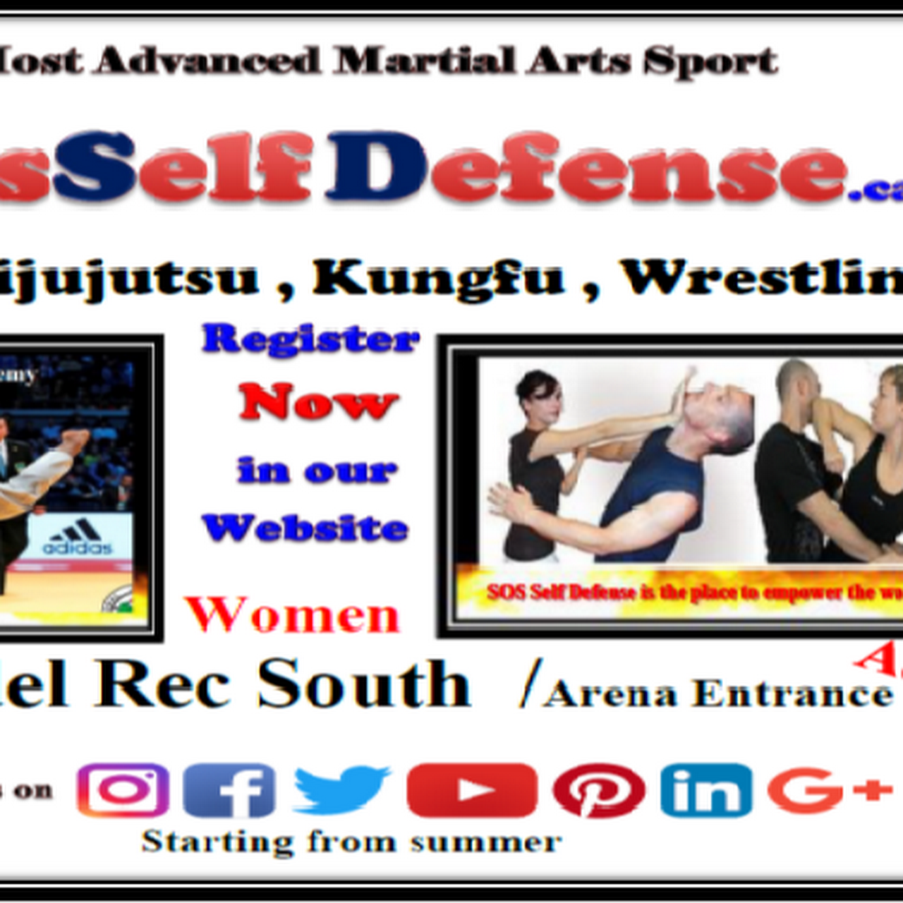 SOS Martial Arts Self Defense Academy - Martial Arts Sports Club in