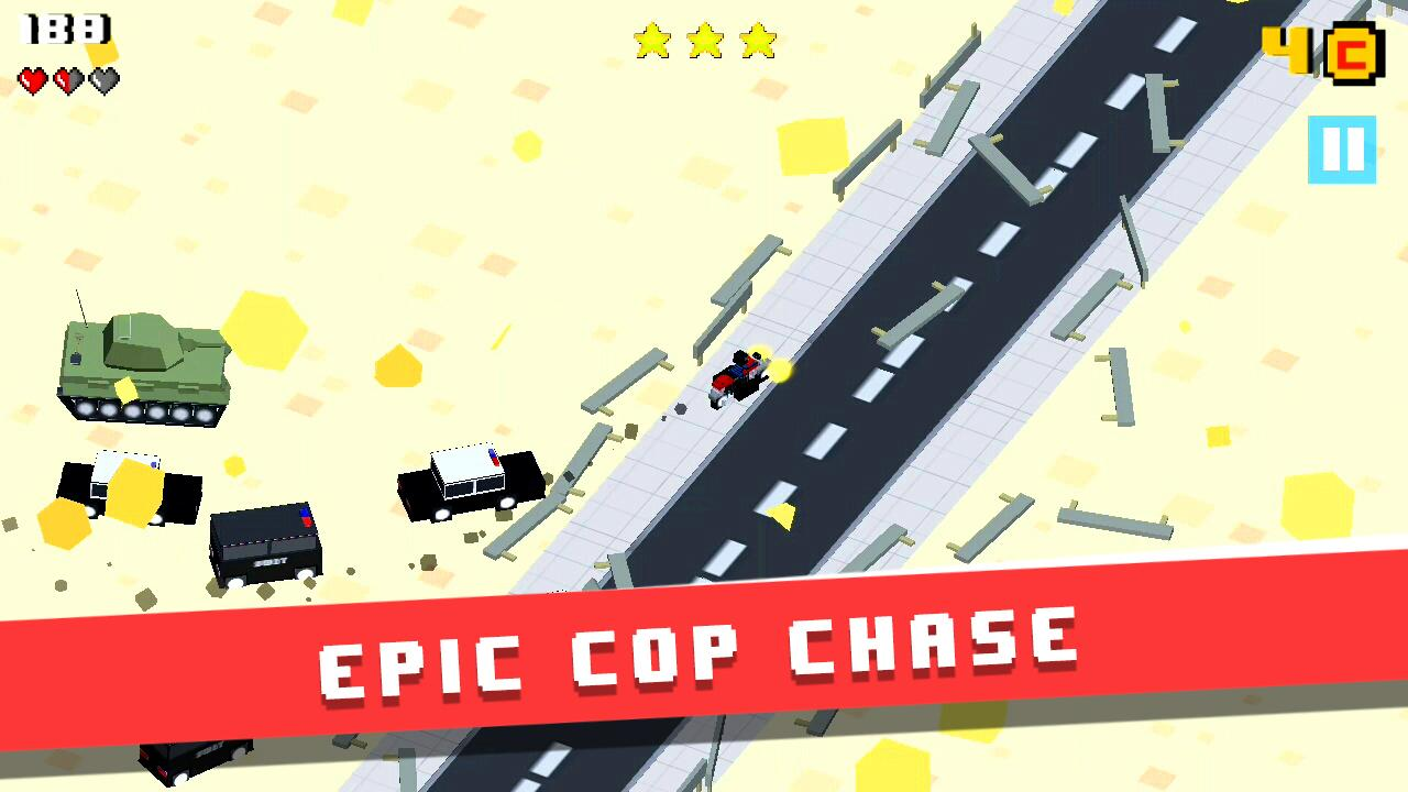 Blockville Rampage - Smashy Police Chase (Unreleased)- screenshot