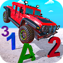 Monster Trucks Game 4 Kids - Learn by Car Crushing icon