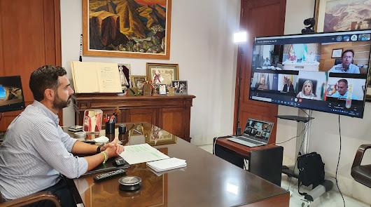 """""""Tenemos que seguir actuando con responsabilidad"""", pide el alcalde de Almería"""