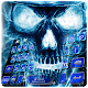 Swag Blue Skull Keyboard Theme (app)
