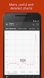 Fuelio: Fuel log & costs Screenshot 6