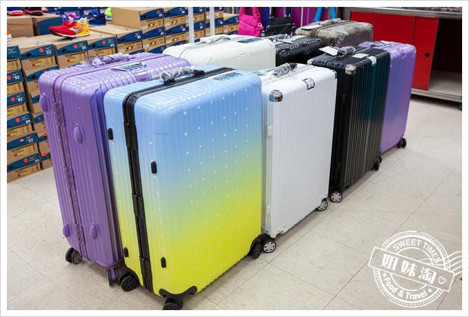 高雄三多三路特賣會行李箱