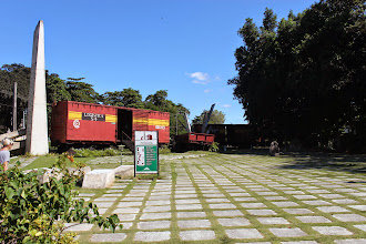 Photo: Che Guevara derailed this train for the transported weapons, signing the start of the revolution. There is a museum in these wagons.