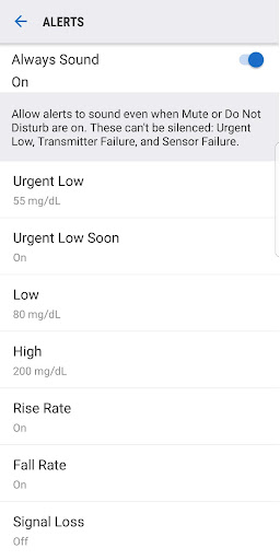 Dexcom G6 1.2.5.2 screenshots 4