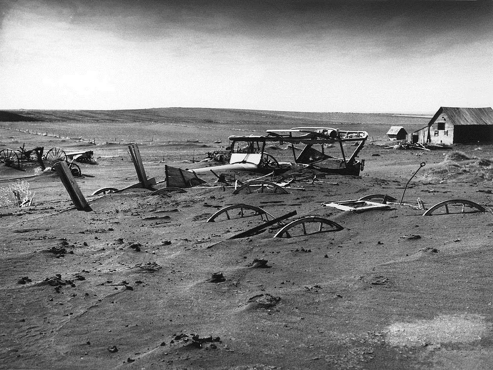 Dust Bowl, as tempestades negras de poeira