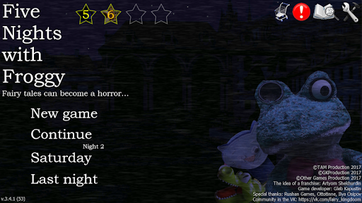 Five Nights with Froggy 3.5.2.1 screenshots 1