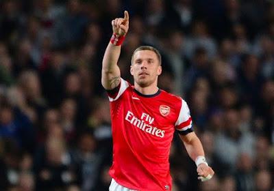 Lukas Podolski quitte le club de Thomas Vermaelen