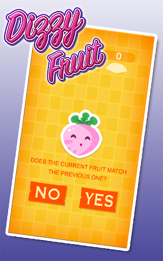 Dizzy Fruit Match Memory Game