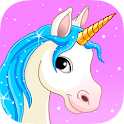 Pony & Unicorn Puzzle Game icon
