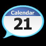 Talking Calendar Reminder Alarm app. 2.4
