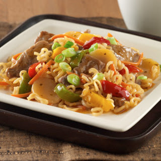 Beef and Noodle Stir-Fry.