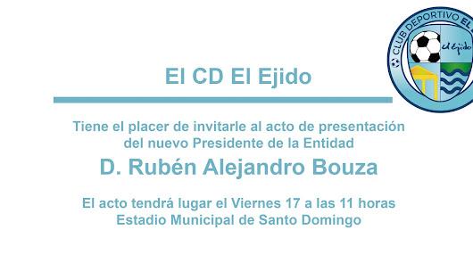 El CD El Ejido presentará este viernes un nuevo presidente