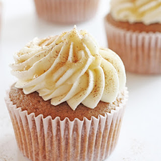 Buttered Rum Cupcakes.