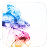 Colourful Smoke Theme