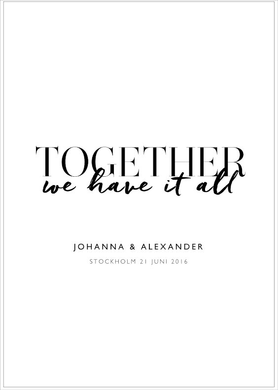 TOGETHER WE HAVE IT ALL