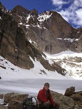Photo: Longs Peak from Chasm Lake