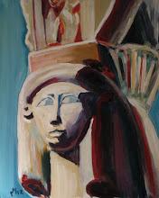 Photo: Grieks/Egyptisch - Hathor, tempel van Hatsjepsoet, bij Luxor
