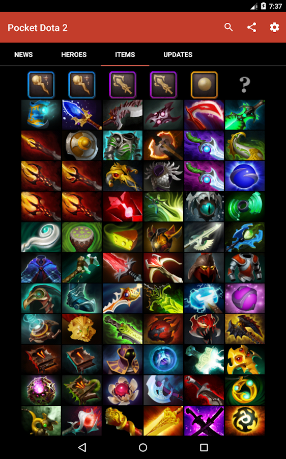 pocket dota 2 guide android apps on google play