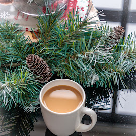 Christmas Coffee by Kathy Suttles - Food & Drink Alcohol & Drinks (  )