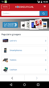 Kieskeurig.nl- screenshot thumbnail