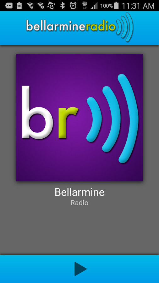 Bellarmine Radio- screenshot