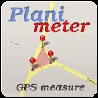 Planimeter - GPS area measure icon