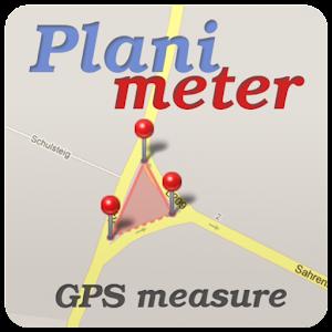 Planimeter - GPS area measure | land survey on map