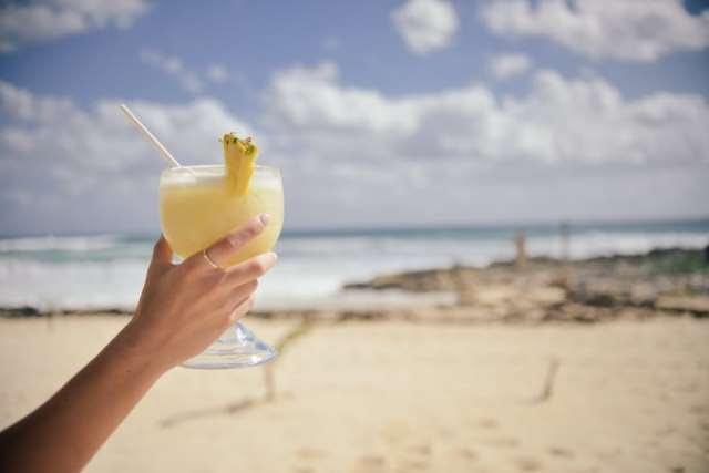 alcohol, alcoholic, beach