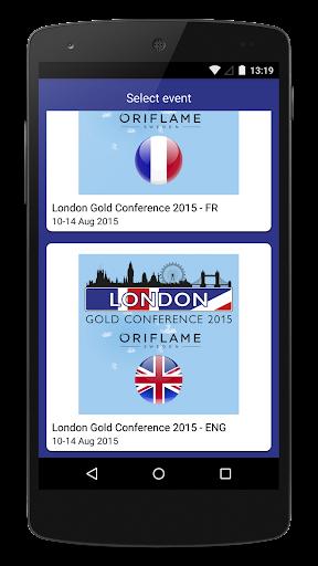 Oriflame London Gold 2015