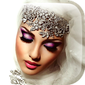 Hijab & Makeup Photo Frame App icon