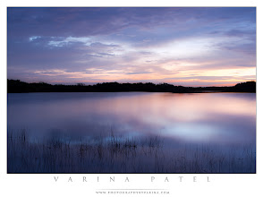 Photo: Calm  A neutral density filter is an invaluable tool when I'm on location.  Thanks for commenting and sharing.  Here's a shot from Nine Mile Pond in the Everglades. It's a beautiful place to watch the sunrise - but on this morning, I wasn't getting any good photos. Although the sunrise was pretty, it wasn't very photogenic - and the water was a bit choppy. A couple of test shots failed to get me excited.  I wanted to transform the scene. So I pulled out my neutral density filter. The idea was to block some of the light coming into the lens with a grey filter - that would mean I could use a much longer shutter speed. The effect was exactly what I wanted. A 25-second shutter speed (f/8) blurred out the waves, giving the water a smooth, calm surface. The slowly moving clouds blurred just a bit - which left the sky looking dreamy. Most importantly, the reflected light on the water scattered with each wave, producing an opalescent glow.  Simple, in-camera techniques like this one can turn an ordinary scene into something just beyond the usual. Have you used a neutral density filter for a similar effect?