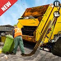 City Garbage Truck Games 3D :Trash Truck Driver icon