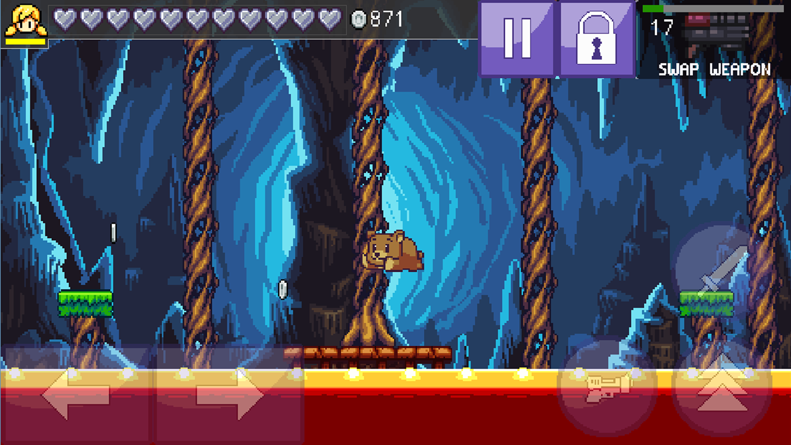 Cally's Caves 3- screenshot