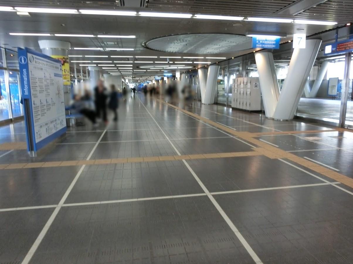 名古屋の中心市街地さかえオアシス21バスターミナル