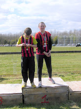 Photo: Ciara & Sean Mockler, Shot Putt & Discus winners at Crookstown Millview Open Sports 2012