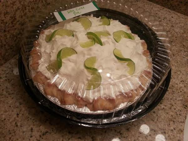 My Key Lime Pie I Made For A Client.