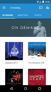 Crossing Church | Greg Dumas- screenshot thumbnail