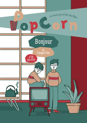 PopCorn revue cinéma éditions du maïs soufflé enfants n°18 Bonjour